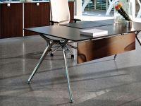 Actiu ARKITEK Scheibtisch rechteckig mit Tischplatte Melamin oder Compact Laminat