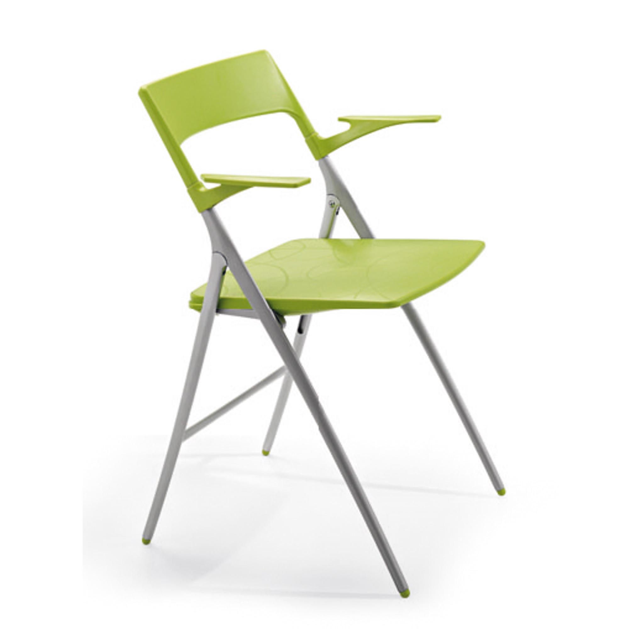 Actiu PLEK Klappstuhl mit Armlehnen Besucherstühle