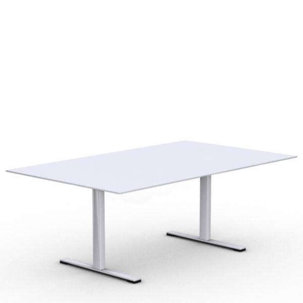 Konferenztisch SEOUL in 200x120 cm mit T-Fuß