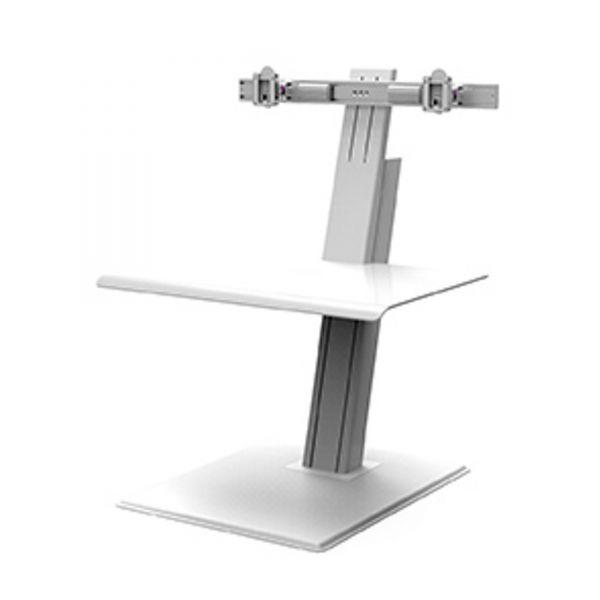 Humanscale QuickStand Eco für Doppeltmonitor weiß