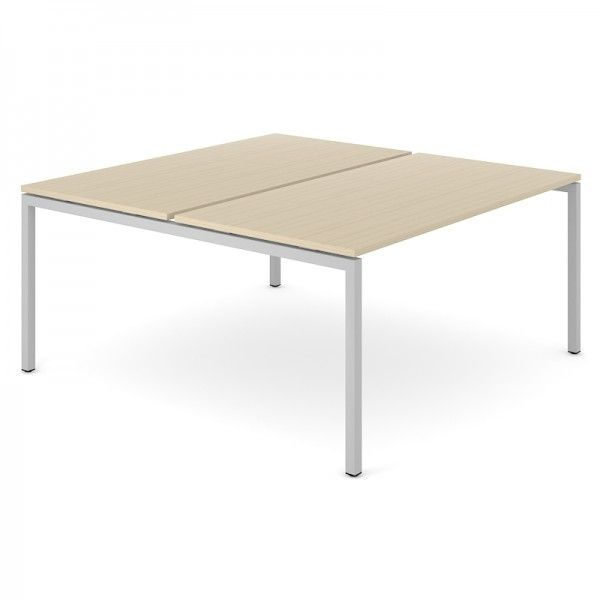 2er Team- Schreibtisch FLEX U