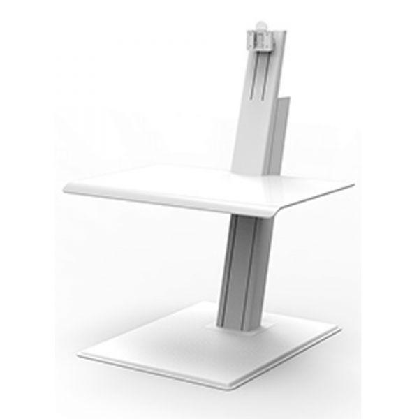 Humanscale QuickStand Eco für Einzelmonitor weiß