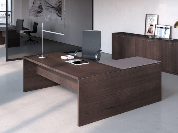 Frezza Asset Schreibtisch mit Anbautisch