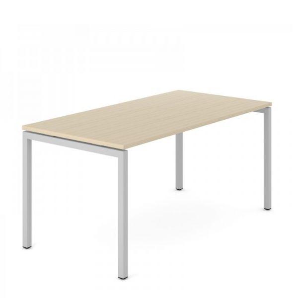 Schreibtisch FLEX U mit 4-Beine Traversengestell