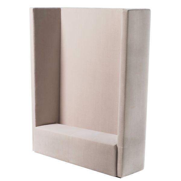 Noti hussar Loungesofa 2-Sitzer mit Rückenlehne hoch