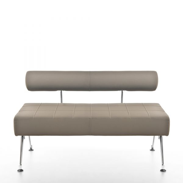 Kastel KUROS 90 als 3-Sitzer Sitzbank mit Rückenlehne