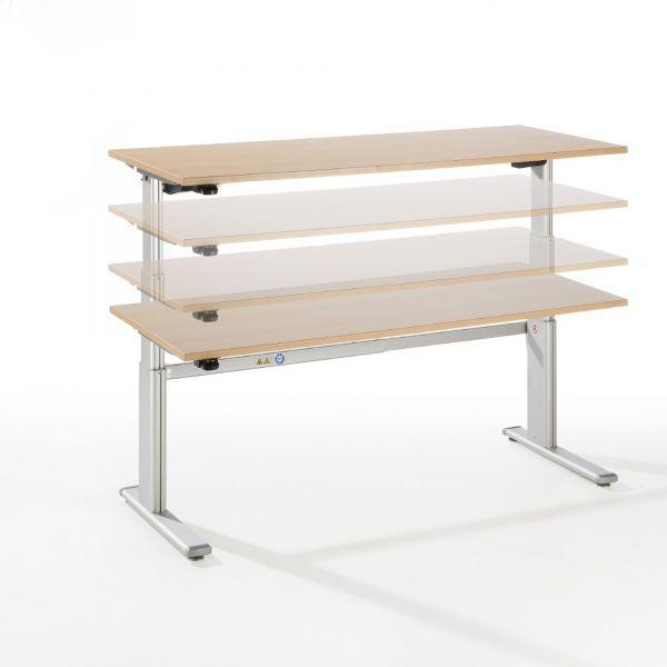 Schreibtisch ZF -. elektr. höhenverstellbar 72-119 cm