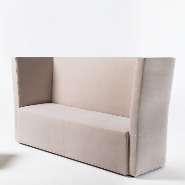 Noti hussar Loungesofa 2-Sitzer mit Rückenlehne niedrig