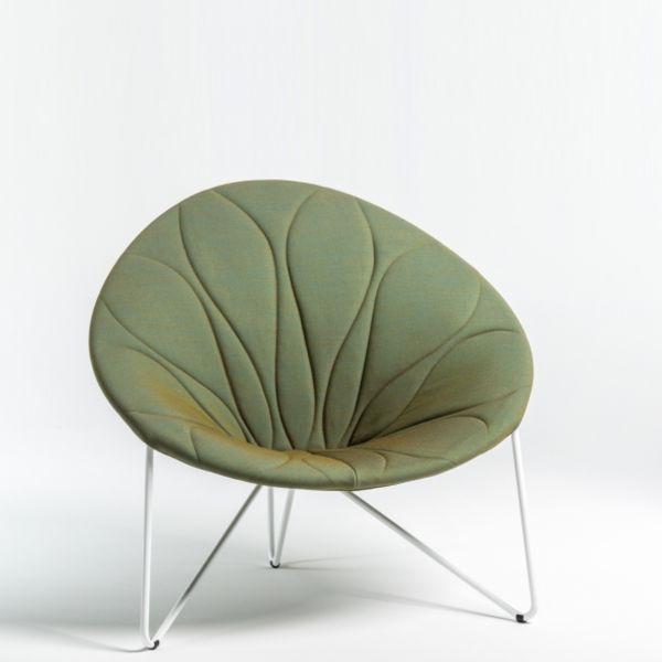Noti Comfee Loungesessel in Sitzsteppung struktural