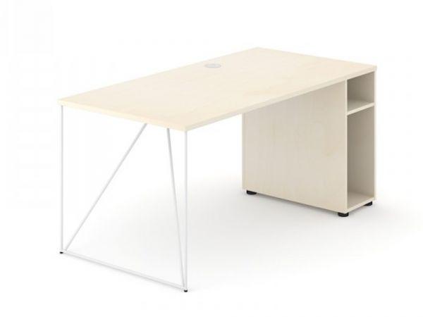 Schreibtisch Loft - Design Schreibtisch mit Container