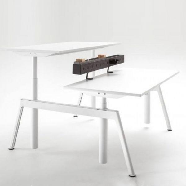 Balma Plus 2er Bench elektrisch höhenverstellbar freistehend