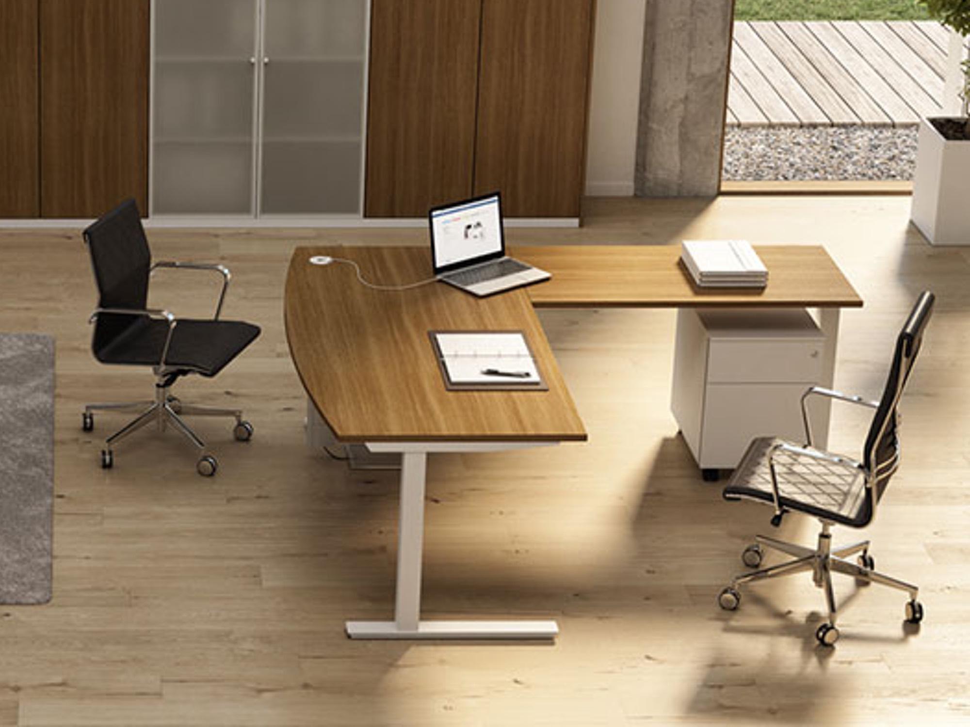 bralco winglet eckschreibtisch fix mit c fu eckschreibtische arbeitsplatz b rotische. Black Bedroom Furniture Sets. Home Design Ideas