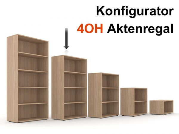 Aktenregal Selection 4OH - Konfigurator