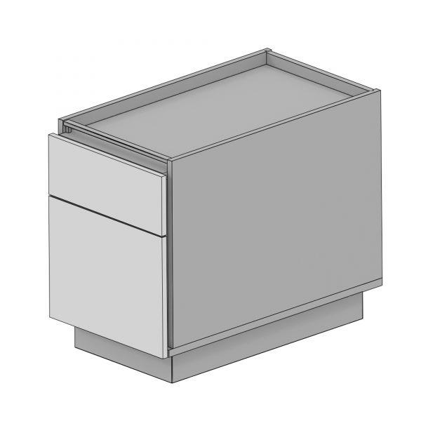 Balma Plus K2-44-M Standcontainer mit 1 x Schublade und 1 x Hängeregister