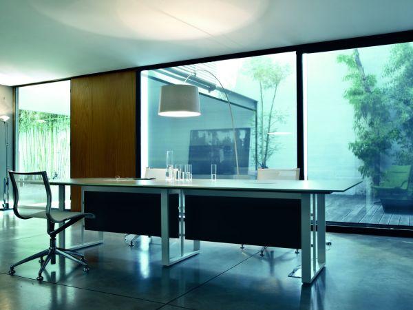 frezza Velvet Konferenztisch in 280x120 cm für 10 Personen