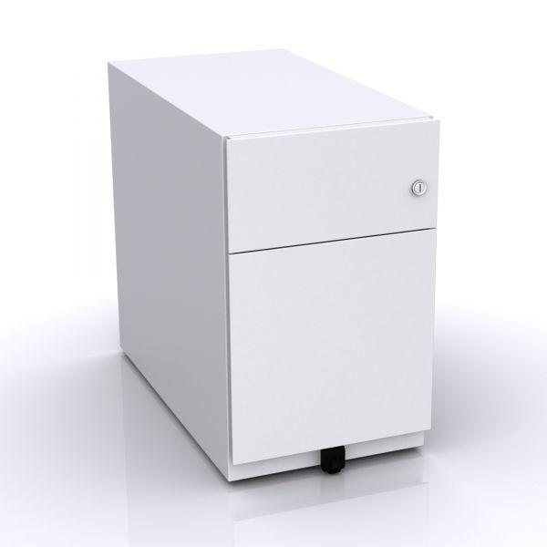 Bisley Note Rollcontainer mit 2 Schubladen in 50x30x57 (HxBxT)