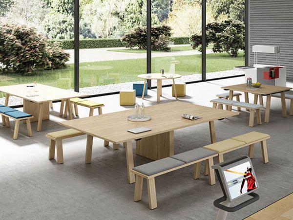 Bralco Take Off Farm Besprechungstisch 276x164 cm rechteckig im Holzdesign