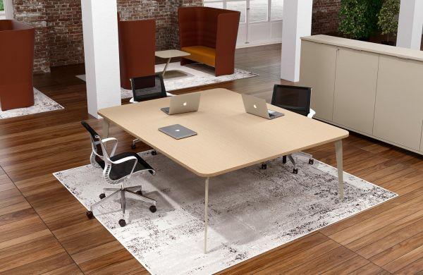 IDO Design Besprechungstisch quadratisch
