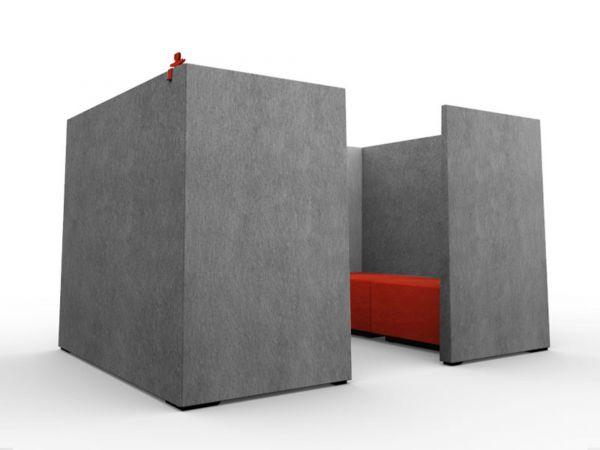 SEOUL SilentBox BIG - Kabine für Open Space bzw. Raum-in-Raum