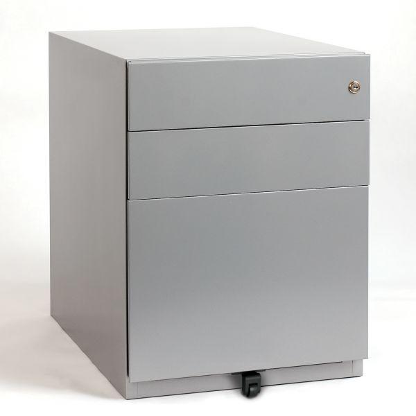 Bisley Rollcontainer NOTE mit 2 Schubladen und 1 Hängeregister 65x42x57 cm (HxBxT)