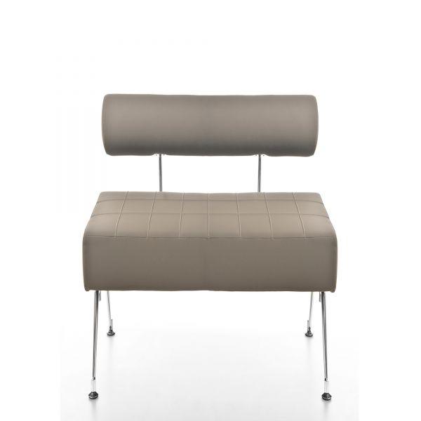 Kastel KUROS 90 als 1-Sitzer Sitzbank mit Rückenlehne