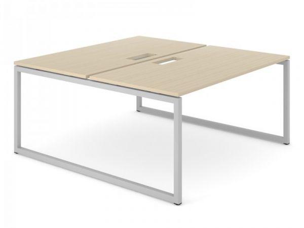 2er Team- Schreibtisch FLEX O