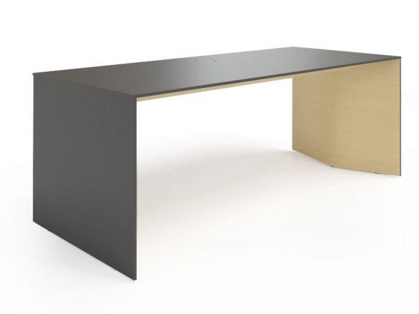 Plana Executive Schreibtisch Fenix und Furnier