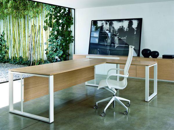 frezza Velvet Schreibtisch mit Tischplatte aus Melamin