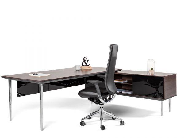 Actiu LONGO Schreibtisch Executive mit Sideboard