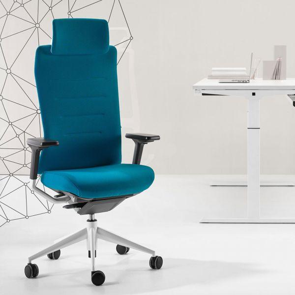 Actiu TNK FLEX 50 Drehstuhl für 24 Stunden arbeiten mit Kopfstütze
