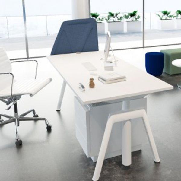 Balma Plus Schreibtisch höhenverstellbar 65–125 cm elektrisch