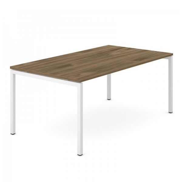 Schreibtisch FLEX PRO in 180/200x100 cm mit 4 Fuss Gestell