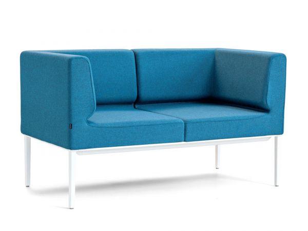 Actiu LONGO NOMADA LG24 2-Sitzer Sofa mit Armlehnen