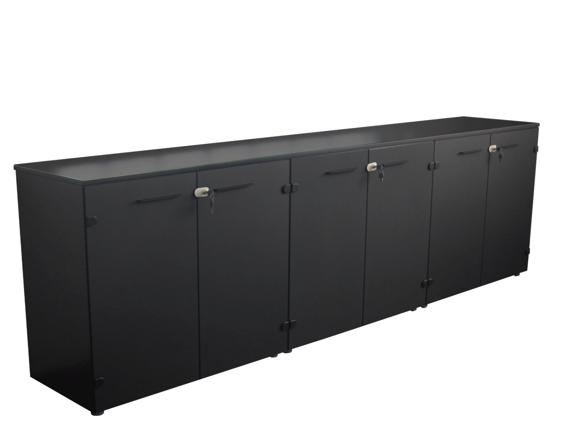 frezza passepartout sideboard 270x45x74 5 cm mit glast ren sideboards b roschr nke alle. Black Bedroom Furniture Sets. Home Design Ideas