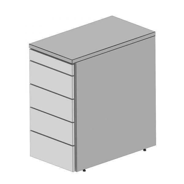 Balma Plus K2-45-M Standcontainer mit 1 x Materialschublade + 4 x Schublade