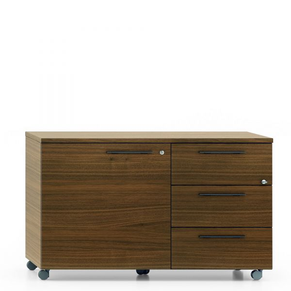 frezza velvet rollwagen furnier mit t r und 3 schubladen sideboards b roschr nke alle. Black Bedroom Furniture Sets. Home Design Ideas
