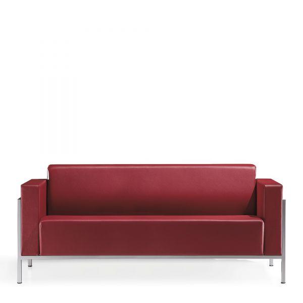 Kastel Kursal Sofa 3-Sitzer mit Metallrahmen alufarbig | Sofas ...