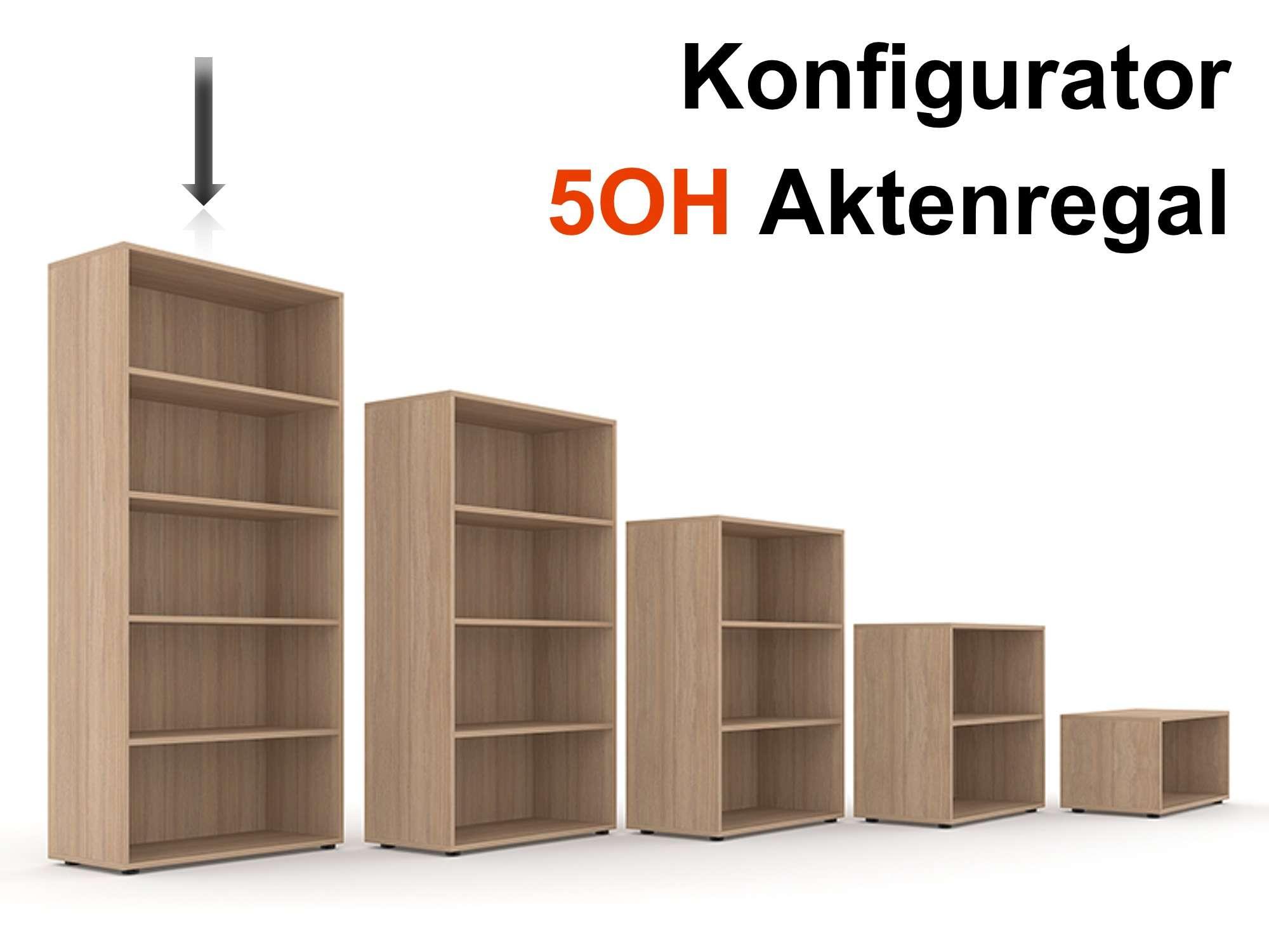 Aktenregal Selection 5OH - Konfigurator | Aktenregale | Büroregale ...