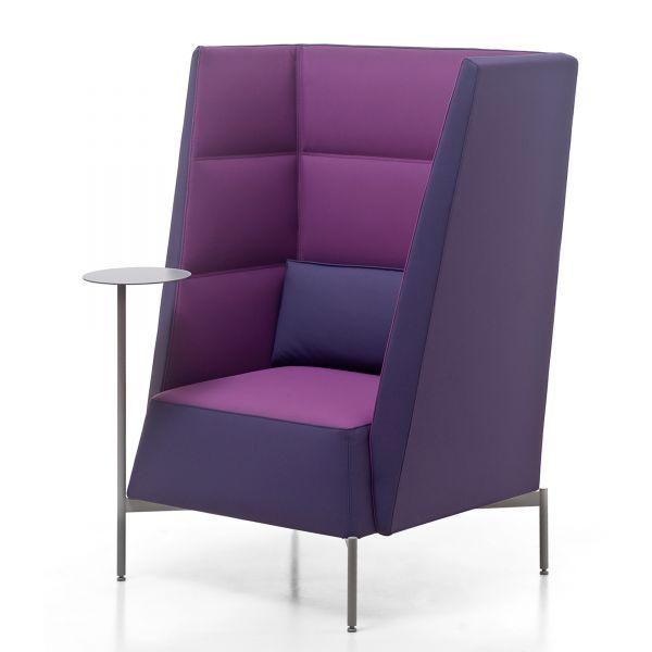 Kastel KENDO Loungesessel mit Rücken hoch H127 cm