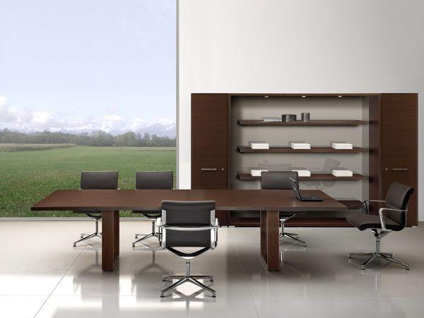 Bralco Arche Konferenztisch 320x120 in Echtholz Furnier
