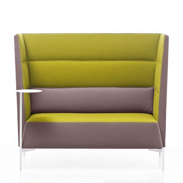 Kastel KENDO Sofa 2-Sitzer mit Rücken hoch H127 cm