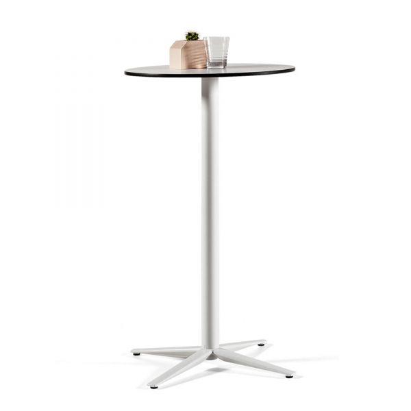 Actiu TABULA TAR20 Stehtisch mit Compact Laminat Tischplatte und 4-Fuß