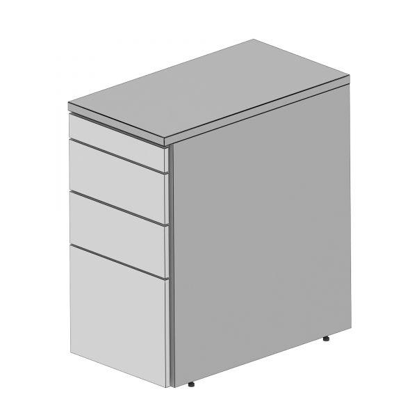 Balma Plus K2-46-M Standcontainer mit 1 x Material + 2 Schublade und 1 x Hängeregister