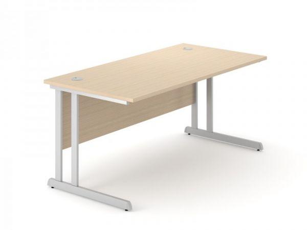 Schreibtisch Toptima mit C-Fuss