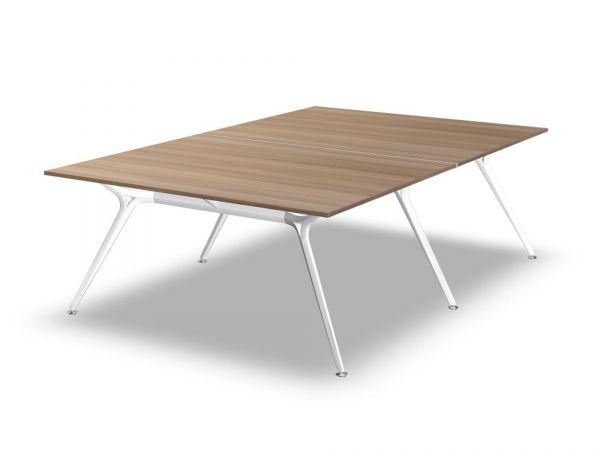 Actiu ARKITEK W58 Konferenztisch 241x160 cm mit Tischplatte Melamin