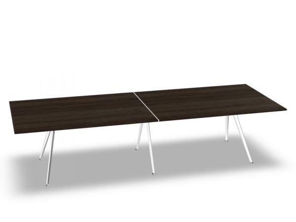 Actiu ARKITEK W48 Konferenztisch 320x120 cm mit Tischplatte Melamin