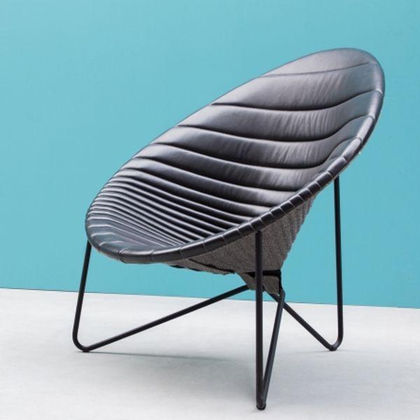 Noti Comfee Loungesessel in Sitzsteppung horizontal