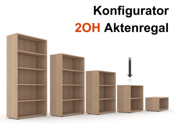 Aktenregal Selection 2OH - Konfigurator