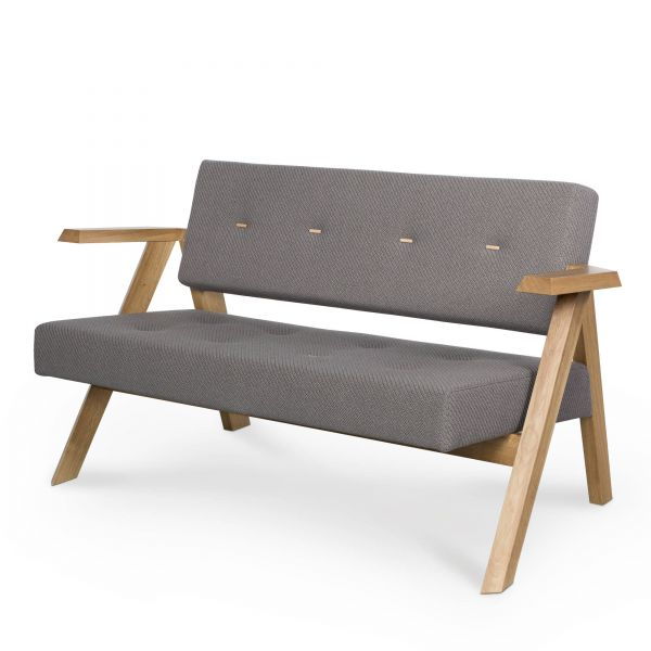 Noti CLAPP Loungesofa mit/ohne Knöpfe im Sitz