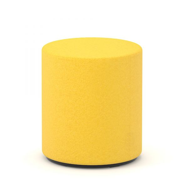 Sitzwürfel rund D40 cm in Wolle Velito